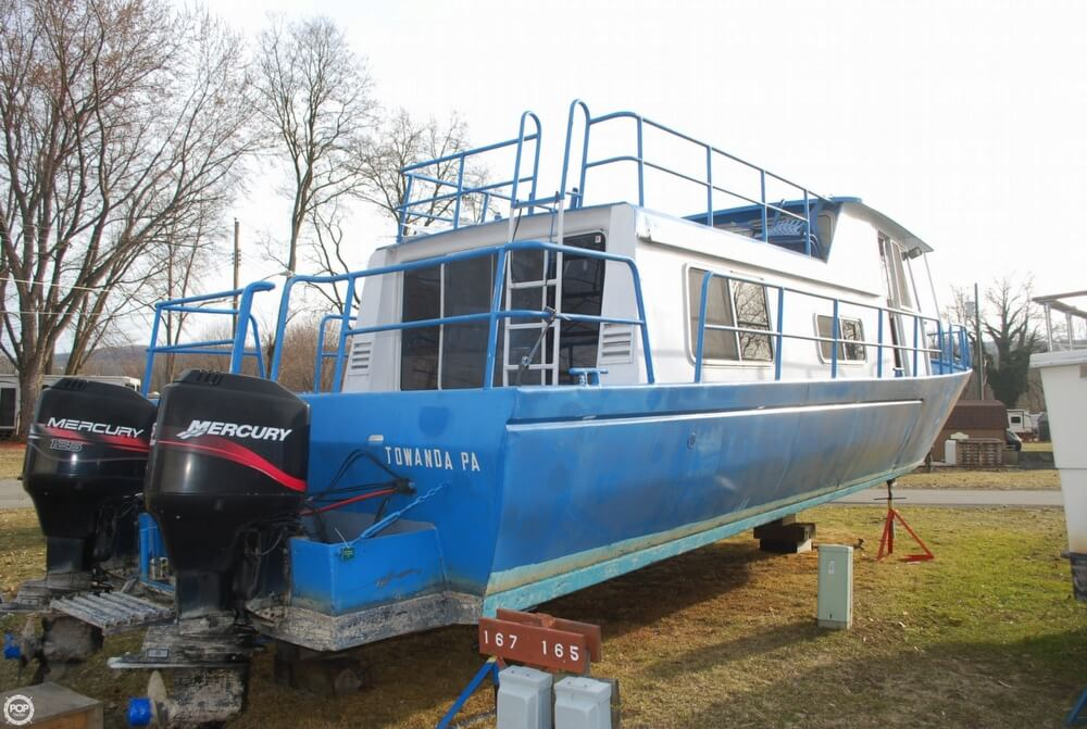 1969 Alcan boat for sale, model of the boat is 36 & Image # 32 of 40