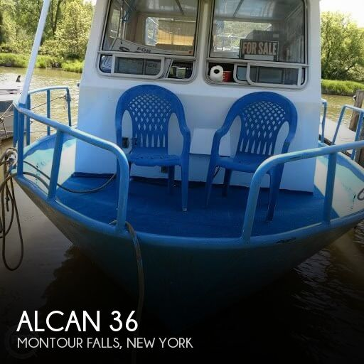 1969 Alcan boat for sale, model of the boat is 36 & Image # 1 of 40