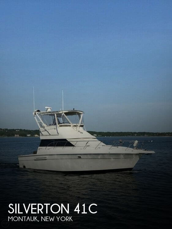 Used Fishing boats For Sale in New York by owner | 1994 Silverton 41