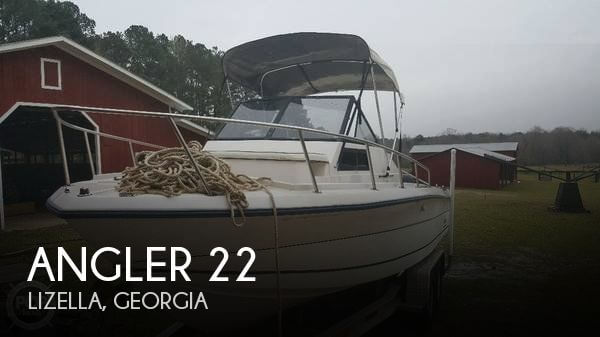 Used Boats For Sale in Macon, Georgia by owner | 1994 Angler 22