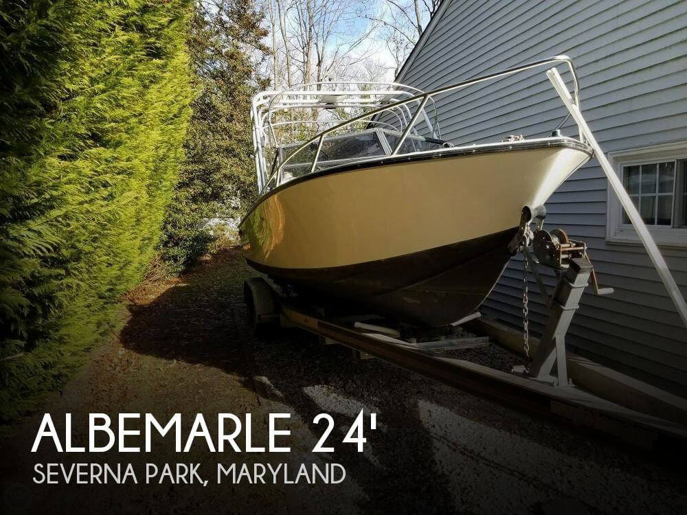 Used Albemarle Boats For Sale by owner   1991 Albemarle 24