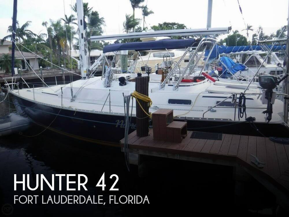 Used Hunter Sailboats For Sale in Florida by owner | 1996 Hunter 42