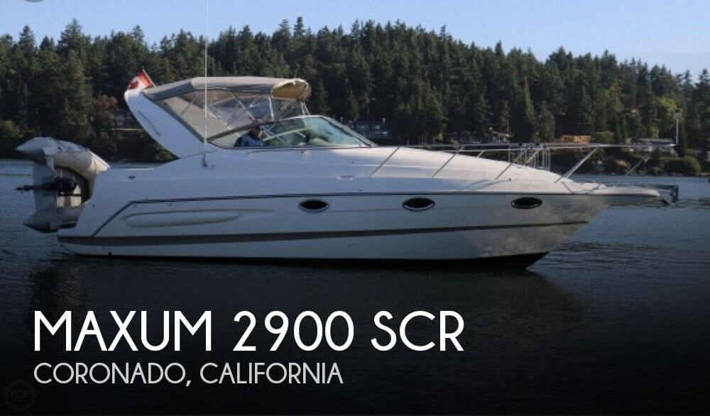 Used Maxum Boats For Sale in California by owner | 2002 Maxum 31