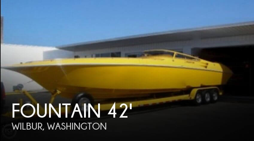 Used Boats For Sale in Washington by owner | 2006 Fountain 42