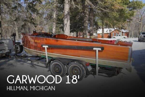 Used Ski Boats For Sale in Michigan by owner | 1937 Garwood 18