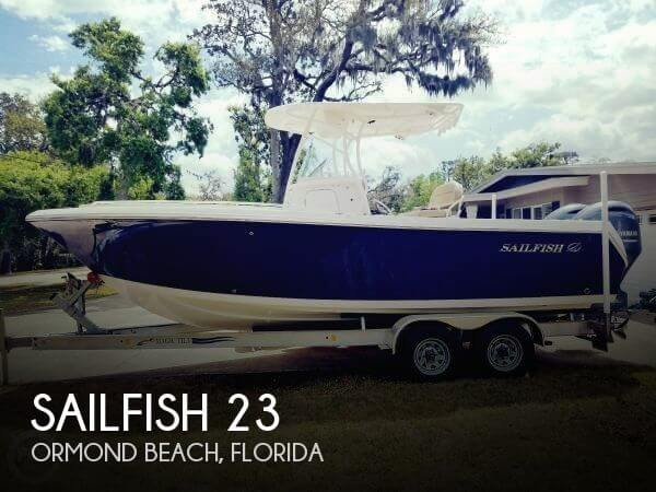 Used Boats For Sale in Deltona, Florida by owner | 2017 Sailfish 23