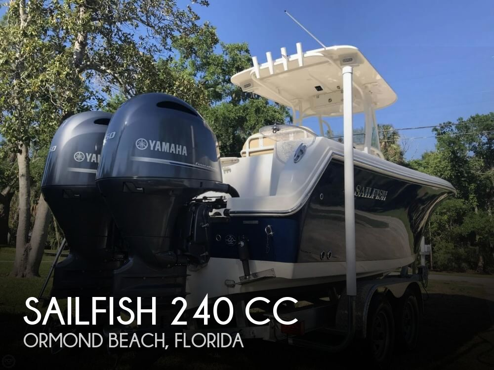 2017 Sailfish 240 CC