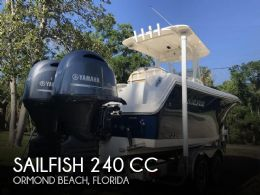 2017 Sailfish 240 CC