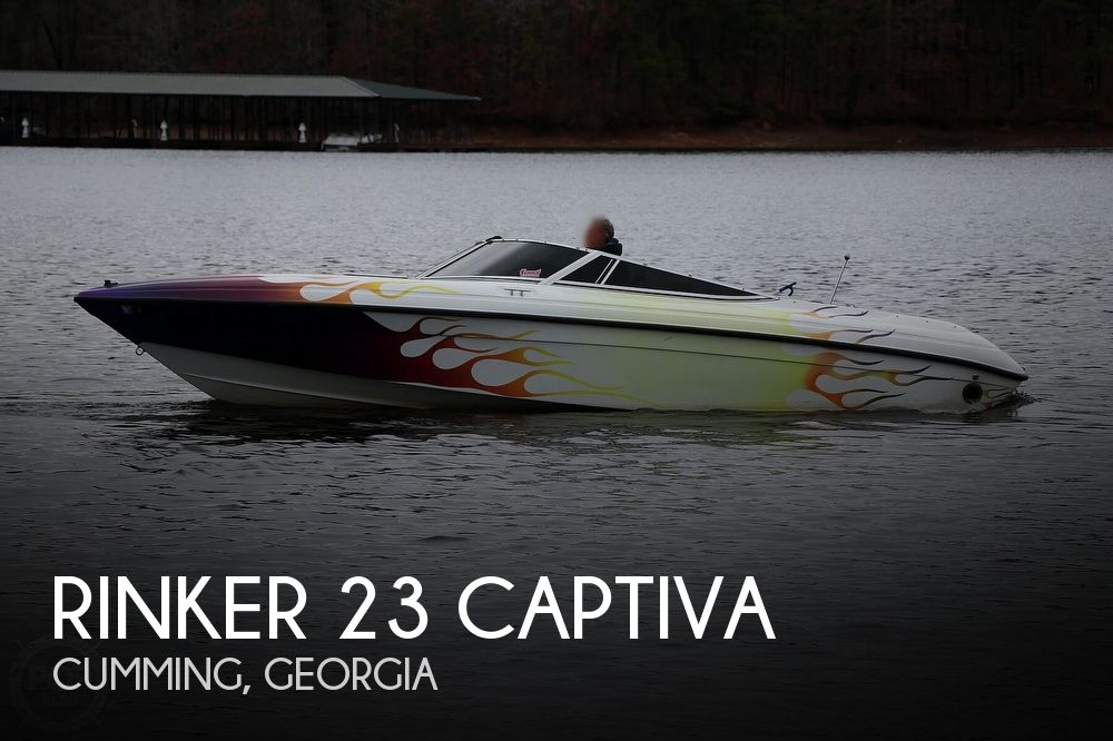 1993 Rinker boat for sale, model of the boat is 23 Captiva & Image # 1 of 40