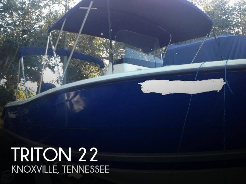 Used Ski Boats For Sale in Knoxville, Tennessee by owner | 2008 Triton 22