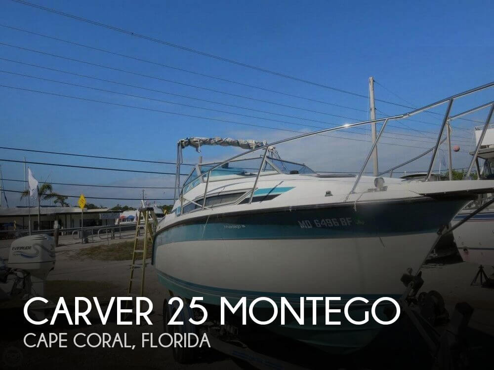 Used Carver 25 Boats For Sale by owner | 1989 Carver 25