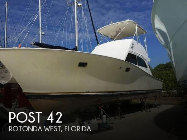 Used Post Boats For Sale by owner | 1975 Post 42