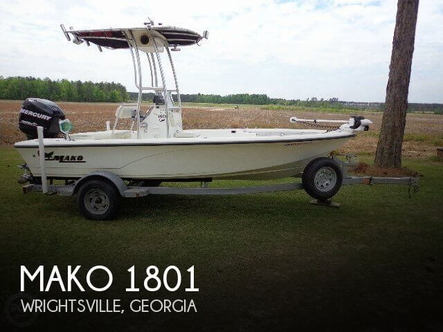 Used Boats For Sale in Macon, Georgia by owner | 2008 Mako 1801