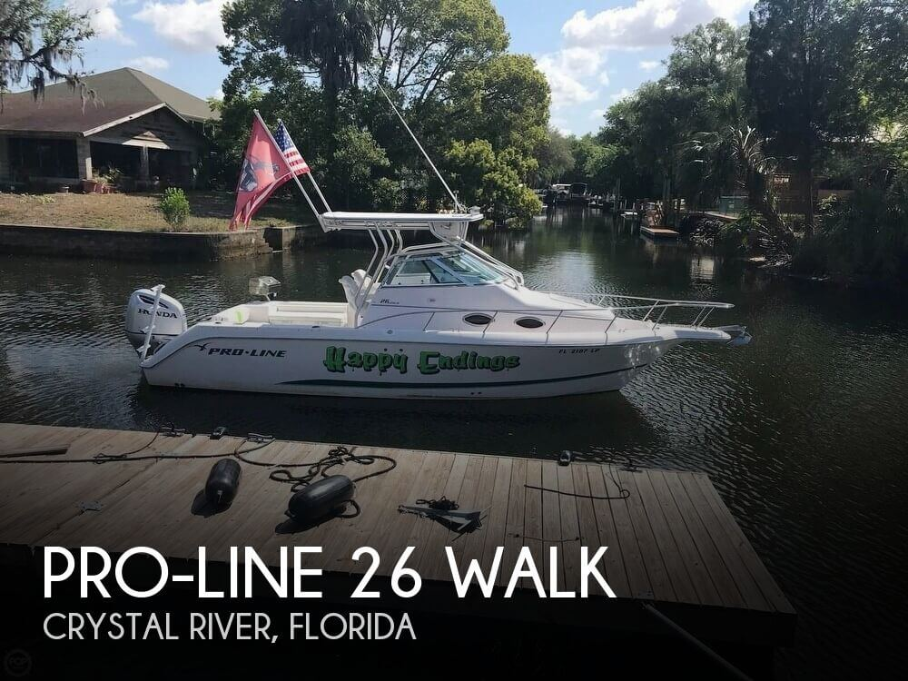 Used Pro-Line Boats For Sale in Florida by owner | 2001 Pro-Line 27