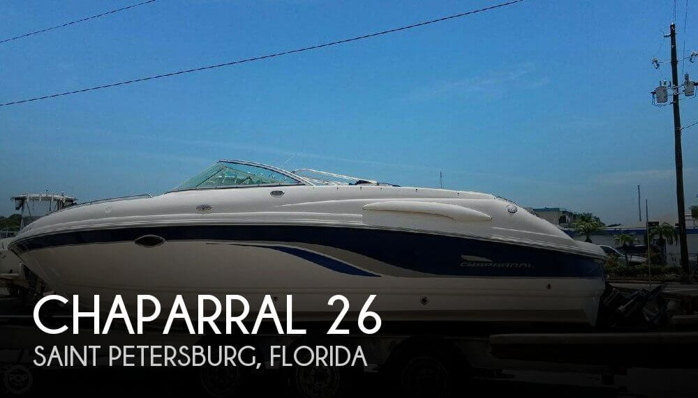 Used Chaparral 26 Boats For Sale by owner | 2001 Chaparral 26