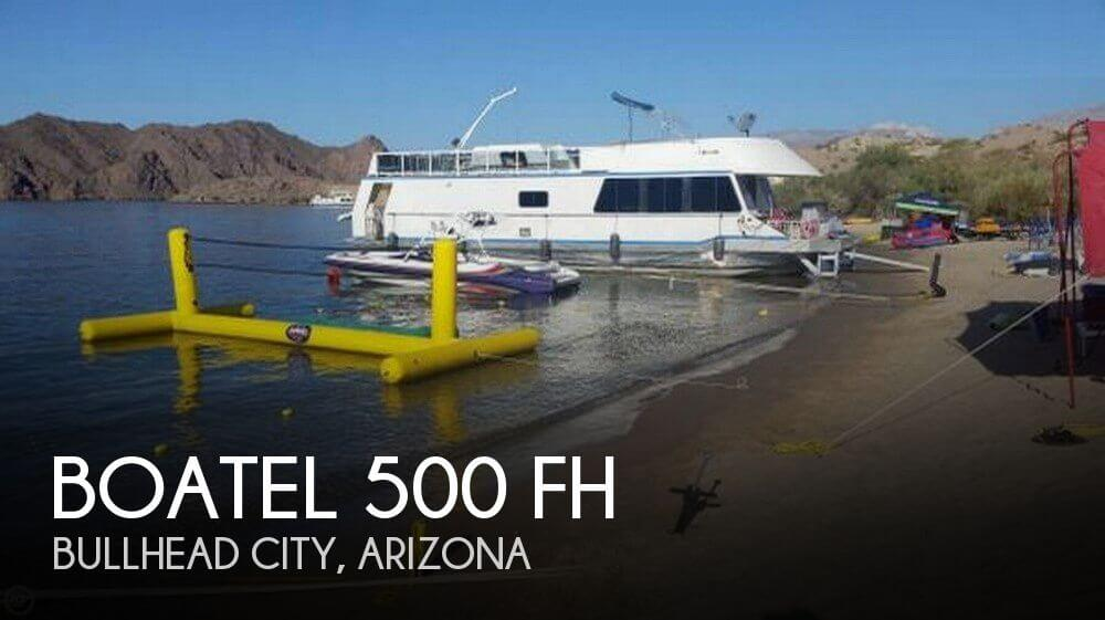Used Houseboats For Sale in Arizona by owner | 1992 Boatel 52