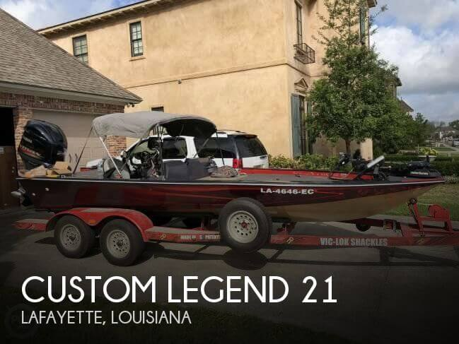 Used Boats For Sale in Lafayette, Louisiana by owner | 1989 Custom Legend 21