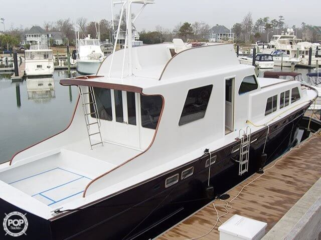 1961 Huckins boat for sale, model of the boat is Linwood & Image # 2 of 37