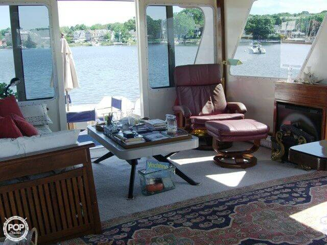 1961 Huckins boat for sale, model of the boat is Linwood & Image # 18 of 37