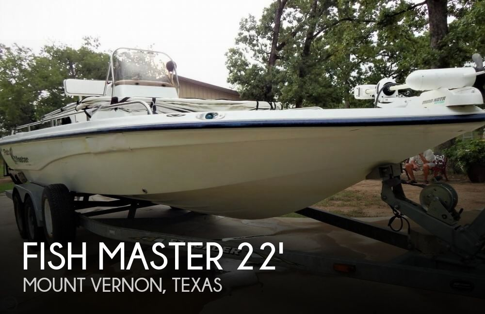 2003 FISH MASTER TRAVIS EDITION 22 for sale