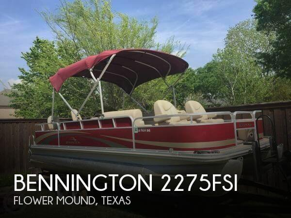 Used Pontoon Boats For Sale in Texas by owner | 2011 Bennington 22