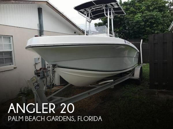 Used Angler Boats For Sale by owner | 2005 Angler 20