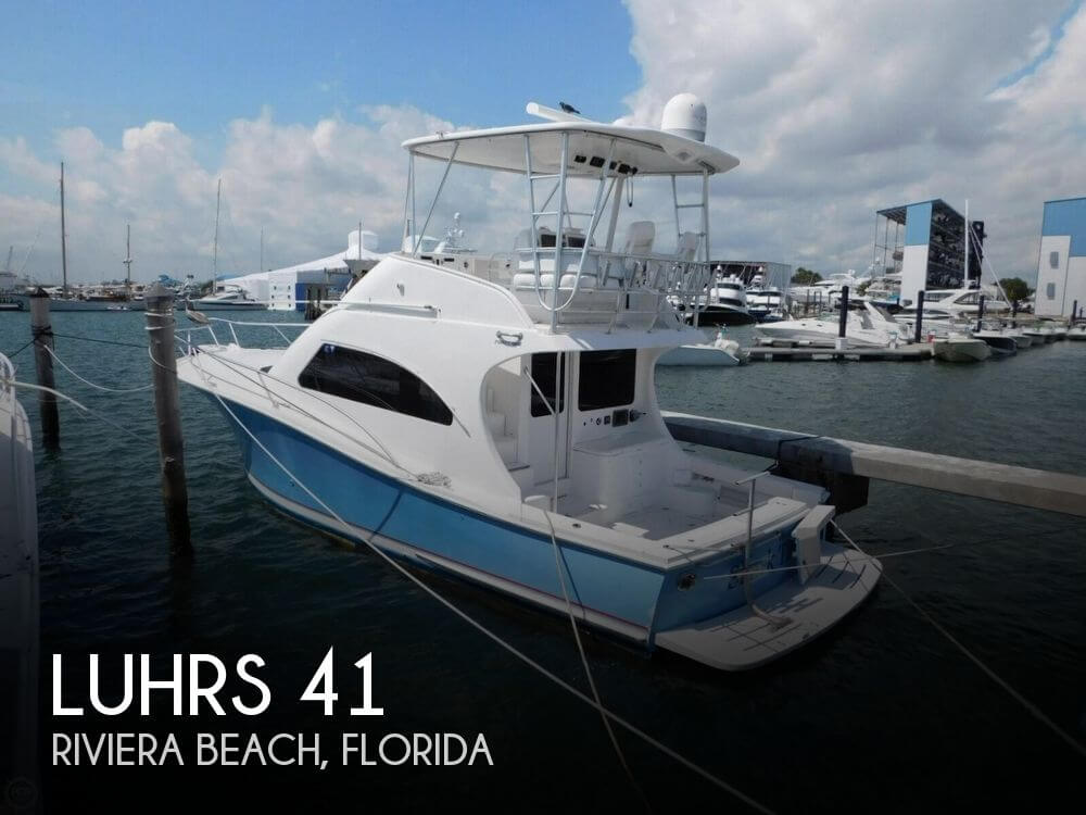 Used Fishing boats For Sale in Florida by owner | 2006 Luhrs 41