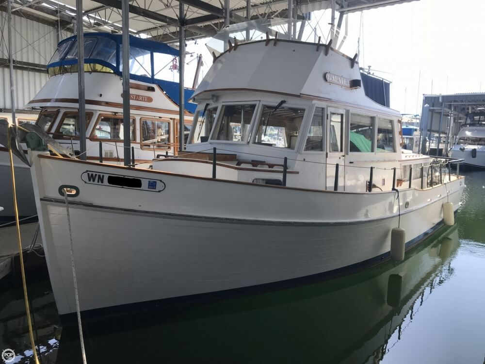 Banks For Sale >> 1964 Grand Banks 36 Classic For Sale