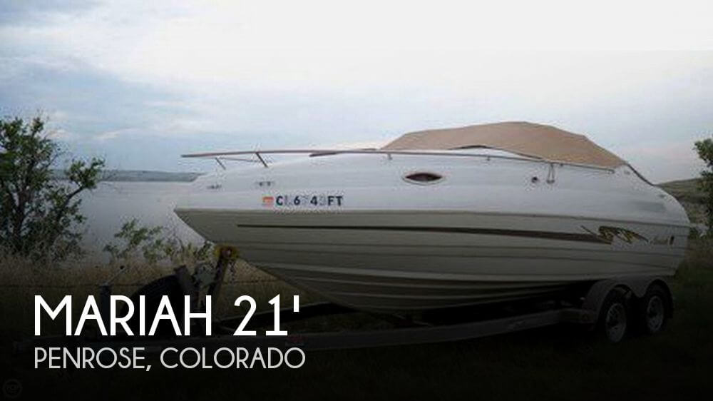 Used Mariah Ski Boats For Sale by owner | 1999 Mariah 21