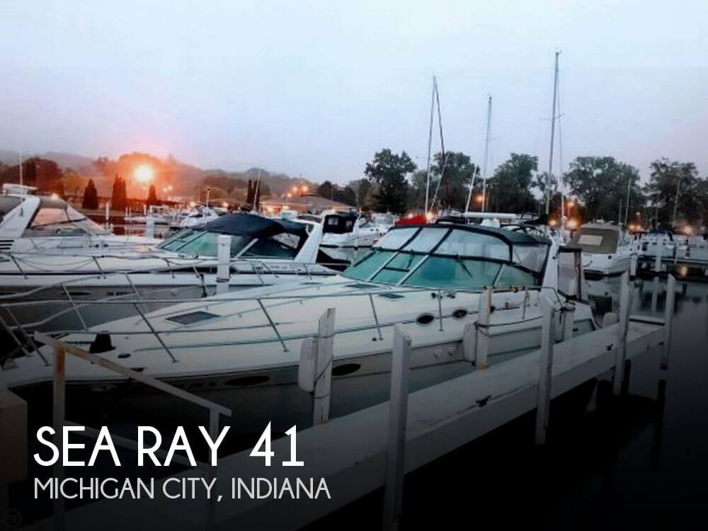 Used Boats For Sale in South Bend, Indiana by owner   1994 Sea Ray 41