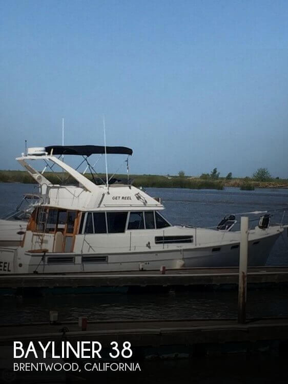 Used Bayliner Boats For Sale in California by owner | 1989 Bayliner 38