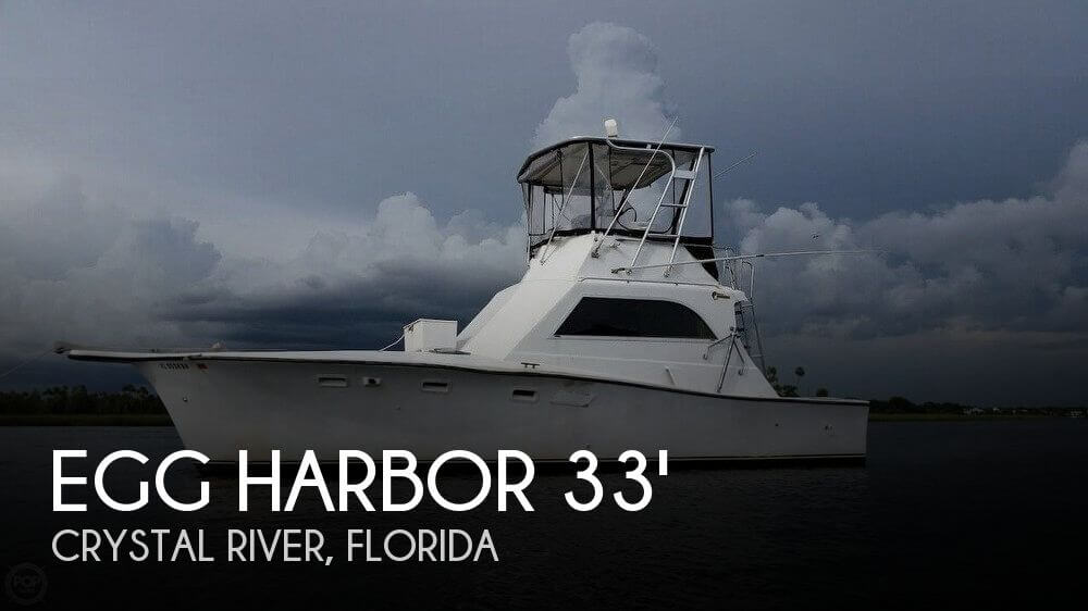 Used Fishing boats For Sale in Ocala, Florida by owner | 1976 Egg Harbor 33