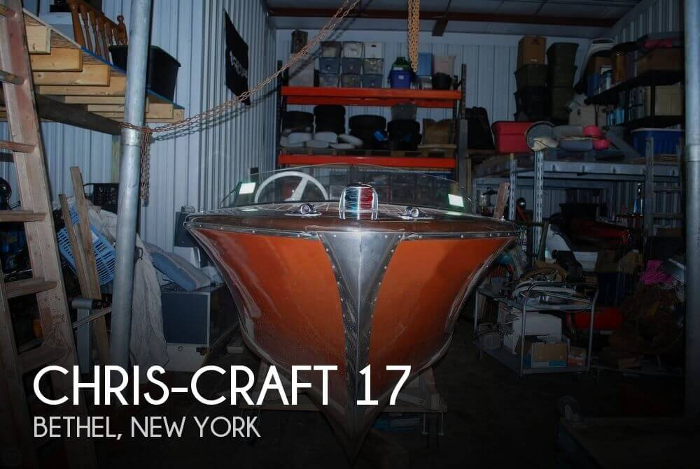 Used Ski Boats For Sale in New York by owner | 1947 Chris-Craft 17