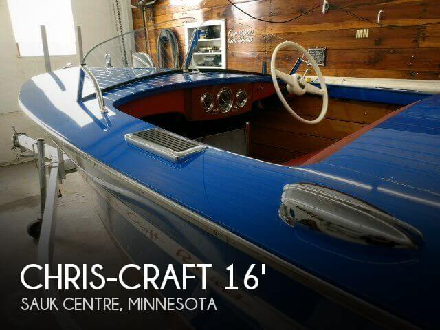Used Boats For Sale in Minnesota by owner | 1948 Chris-Craft 16