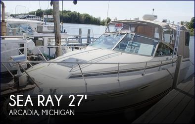 Used Sea Ray Boats For Sale in Michigan by owner | 1987 Sea Ray 27