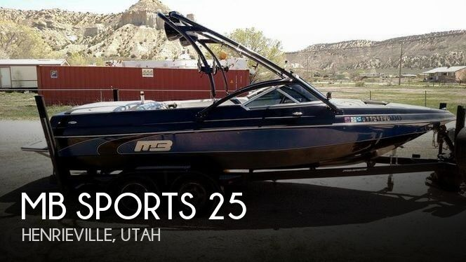 Used Boats For Sale in Utah by owner | 2007 MB Sports 25