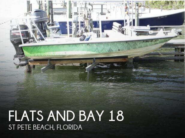 Used Flats and bay Boats For Sale by owner | 1999 Flats and Bay 18