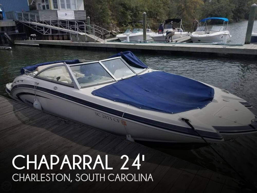 Used Deck Boats For Sale by owner | 2011 Chaparral 244 Sunesta