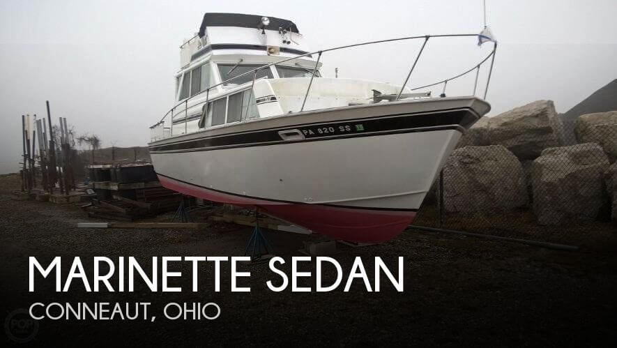 Used Motoryachts For Sale in Ohio by owner | 1978 Marinette 32