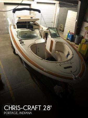 Used Boats For Sale in South Bend, Indiana by owner | 2003 Chris-Craft 28