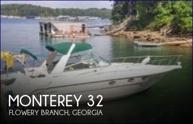 Used Monterey Boats For Sale in Georgia by owner | 1998 Monterey 32
