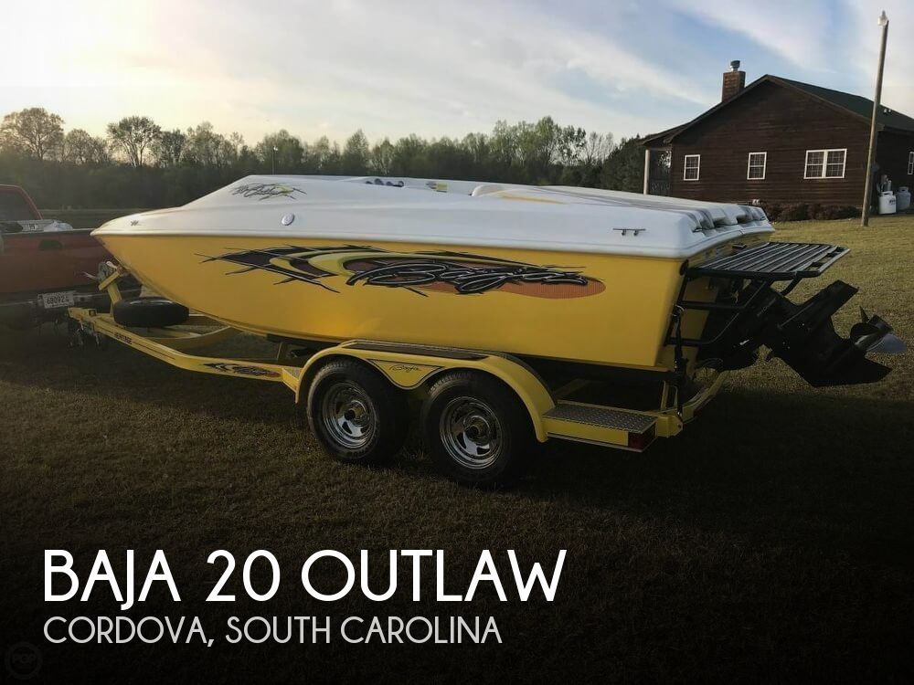 2008 Baja boat for sale, model of the boat is 20 Outlaw & Image # 1 of 40