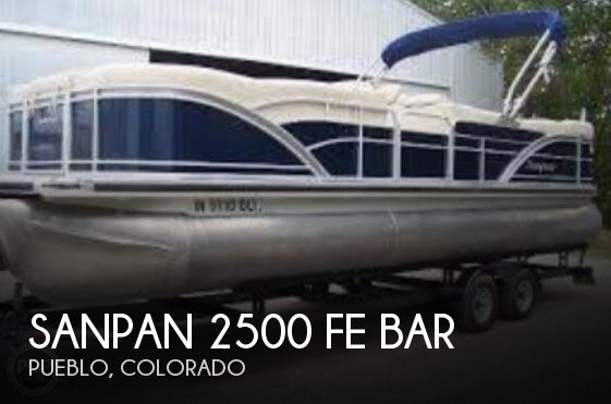 Used Pontoon Boats For Sale by owner | 2012 Sanpan 26