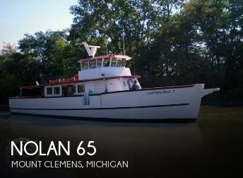 Used Boats For Sale in Michigan by owner | 1962 Nolan 65