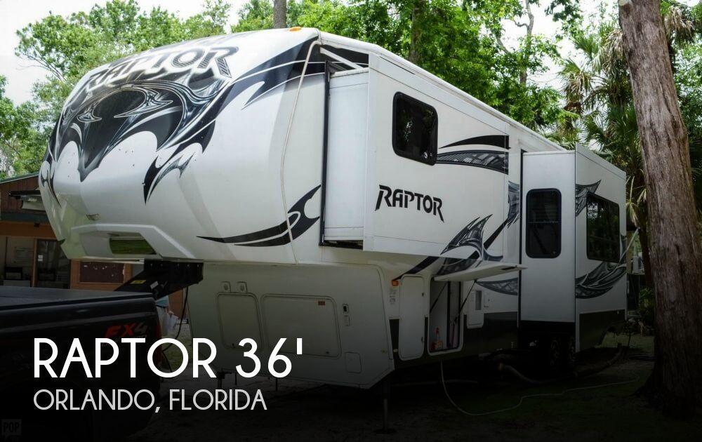 2013 Keystone Raptor 310 Extreme Temperature Package