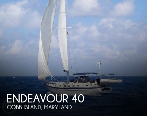 Used Sailboats For Sale in Maryland by owner | 1983 Endeavour 40
