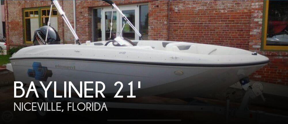 Used Bayliner Deck Boats For Sale by owner | 2017 Bayliner 21