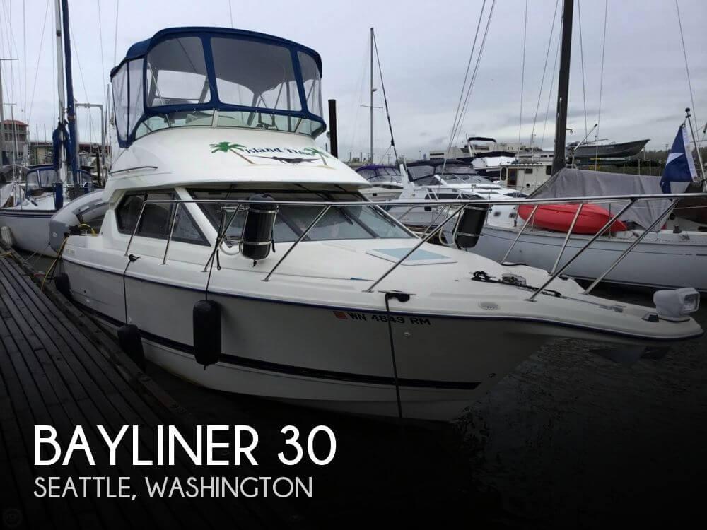 Used Bayliner Boats For Sale in Washington by owner | 2003 Bayliner 30