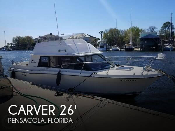 Used Carver 26 Boats For Sale by owner | 1983 Carver 26