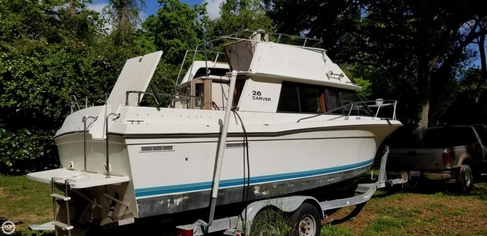 1983 Carver boat for sale, model of the boat is 26 Santa Cruz & Image # 3 of 40